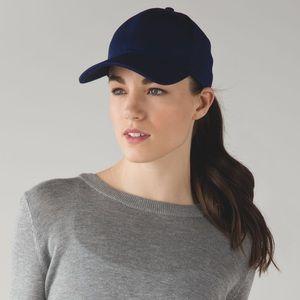 Blue lululemon ballet hat